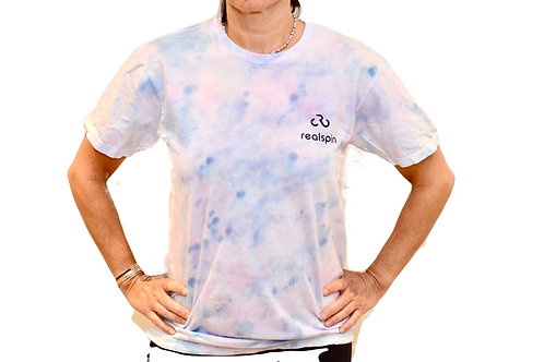 tie-dye t-shirt: marble (faded)