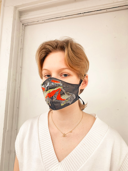 Embroidered Mask