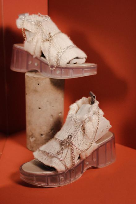 Knit Sandals