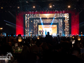 Winners announced at the biggest awards evening the industry has ever seen.