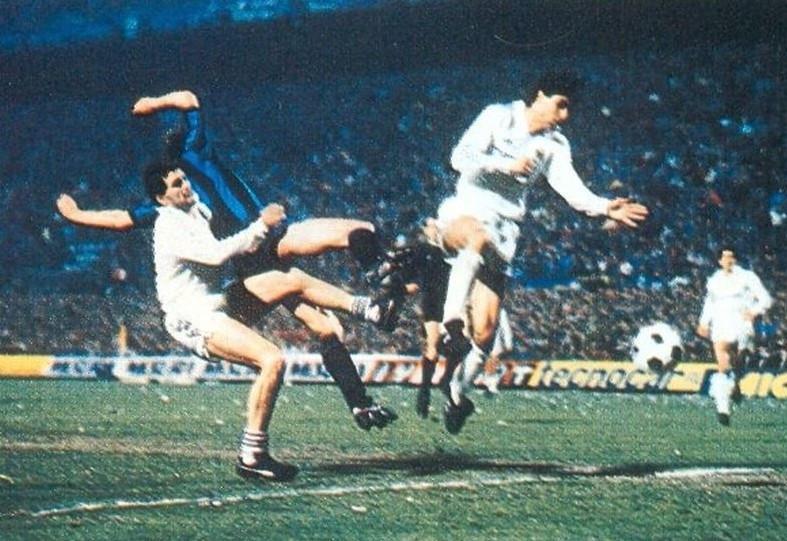 2 aprile 1986: Inter - Real Madrid