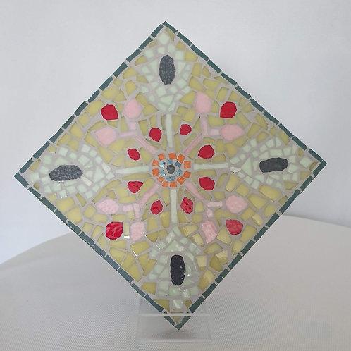 Un carré Foulard mosaïque