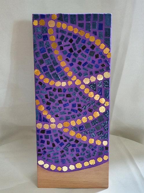 Décoration T. Violet