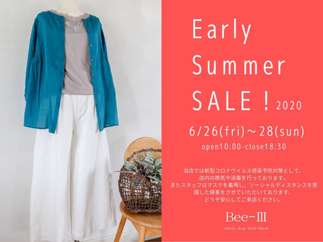 Early Summer Sale! 2020