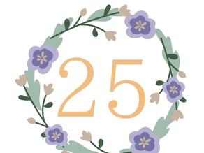 25th anniversary fair ご来店の皆様ありがとうございました*