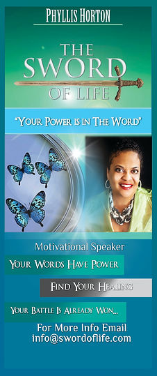 Phyllis Horton The Sword of Life Book