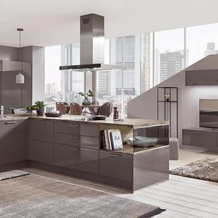 German Kitchen Cabinets in Gloss finish