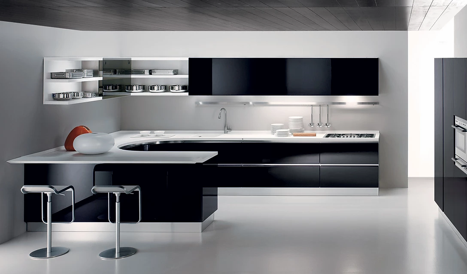Luxurious Kitchens  Made in Italy