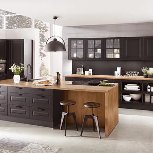 Transitional Style German Kitchens