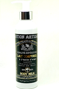 BODY MILK WITH ARGAN OIL