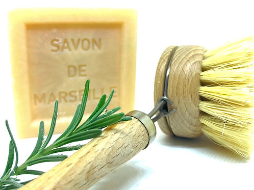 SAVON de MARSEILLE & DISH BRUSH