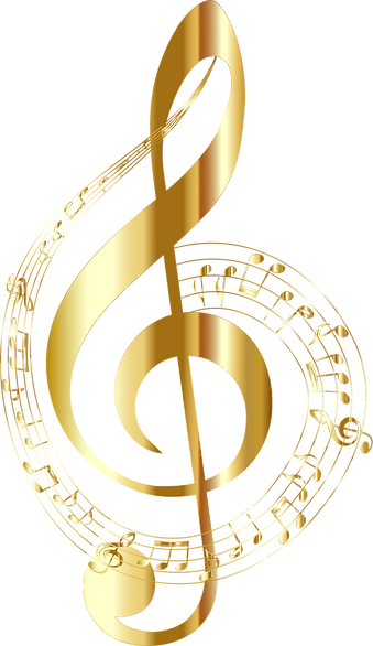 Gold-Musical-Notes-Typography-No-Backgro