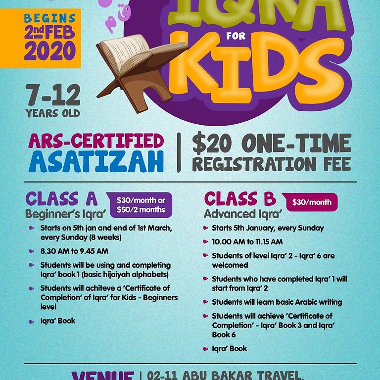 Iqra' for Kids