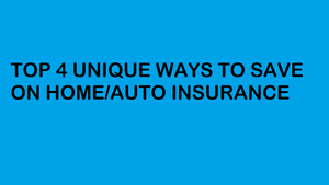 Save on Home/Auto Insurance