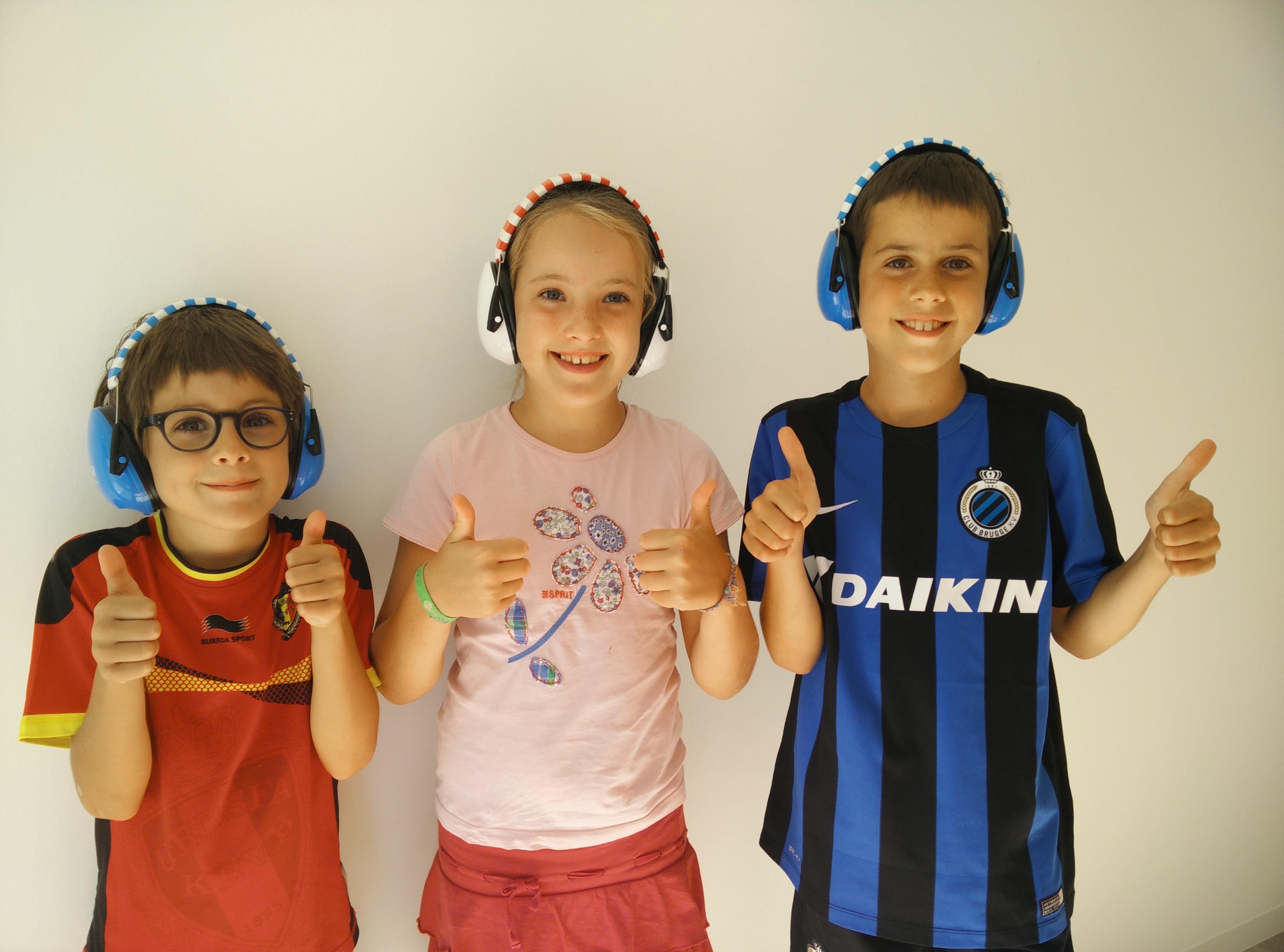 Hoofdtelefoon voor kids
