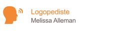 logopedist Melissa Alleman