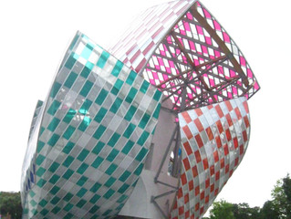 Fondation Louis  Vuitton by Frank Gehry in Paris