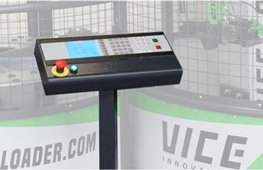Ovládací panel automatizace Viceloader