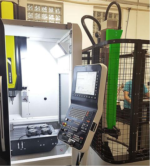 Instalace Viceloaderu ke stroji DMG