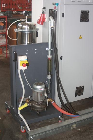OIL CLEAN filtrace pevných částic v suspenzi