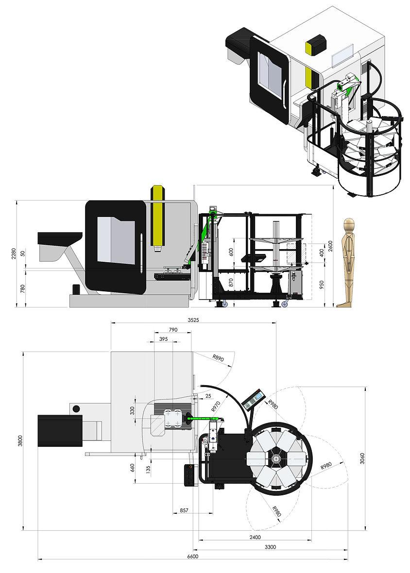 automatizace Viceloader a DMG 635V
