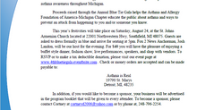 PSA: 4th Annual Blue Tie Gala