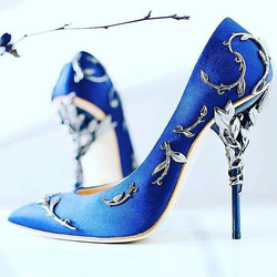 How to #dress for a #blue theme_.check out #FAB #blog on our website__Www.fhfab