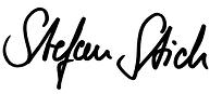 Unterschrift Stefan Stich