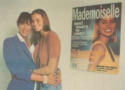 Irene with Niki Taylor - 1992