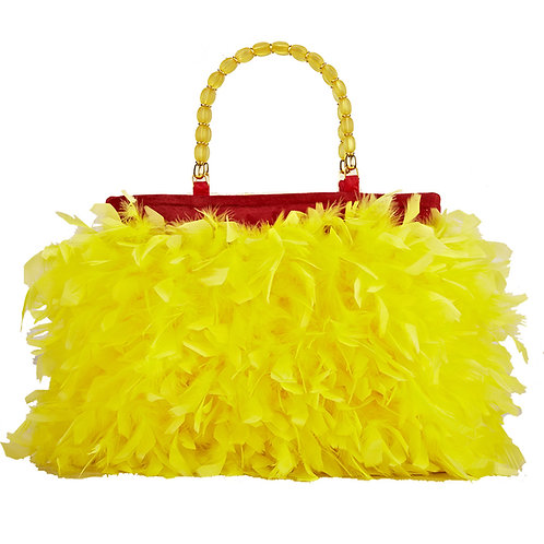 The Daffodil Angel - MARY Grande Leather Handbag