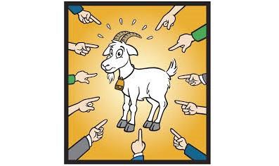 Il famoso 'capro espiatorio'.. sono io?