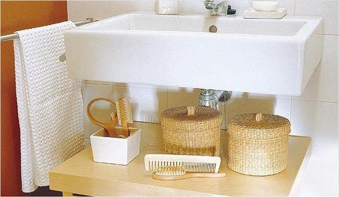 Banyo araç gereçlerin yeri