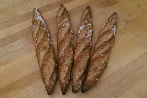 Buckwheat Baguette