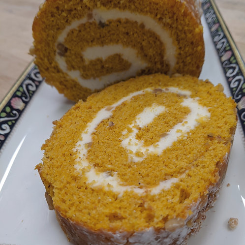 Pumpkin Roll (5 generous servings)