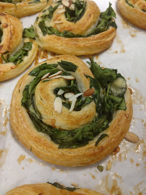 Spinach with Jarlsberg Cheese Croissant