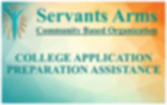Servants Arms College Applications.jpg