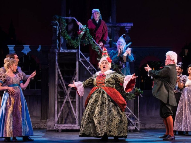 Mrs. Fezziwig- Ahrens' & Flaherty's A Christmas Carol