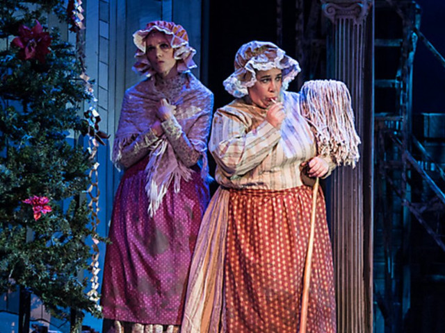 Char Woman - Aherns' & Flaherty's A Christmas Carol