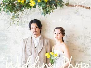 【wedding photo】  2人の、はじまり