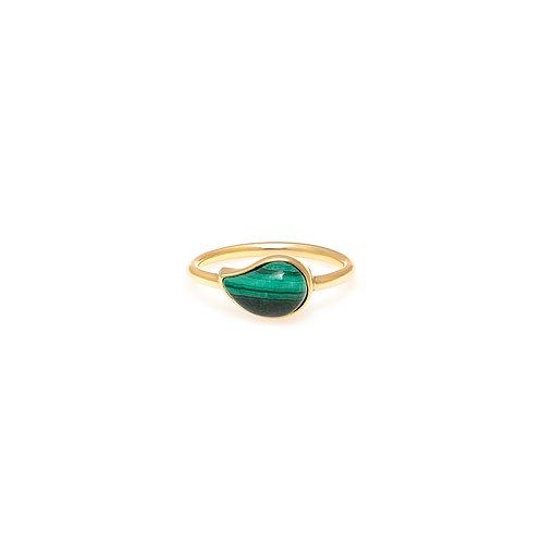Pinky Ring Seiva - OA Malaquita