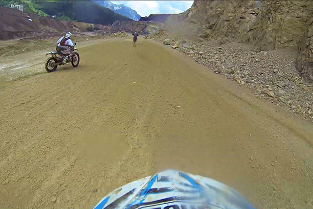 OnBOARD: Давид Леонов Erzberg Rodeo 2014 From START to 1st CHEСK POINT