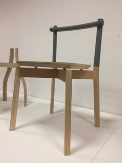Joint Detail of Stacking Chair