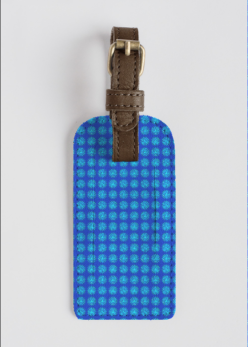 VISUDDHA CHAKRA  leather accent tag