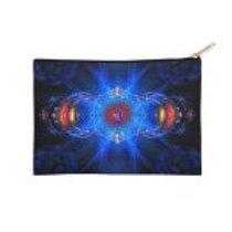 Ajna Third Eye Chakra Symbol  Zip Pouch