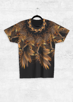 Autumn Feathers unisex tee