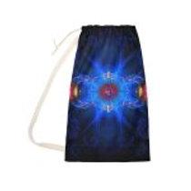 Ajna Third Eye Chakra Symbol Laundry Bag