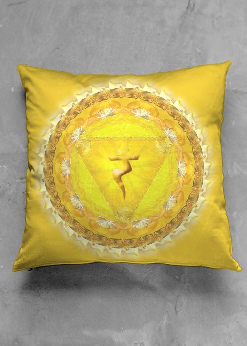 MANIPURA CHAKRA pillow