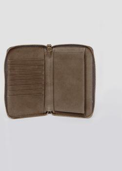 MANIPURA CHAKRA leather zip around wallet 2