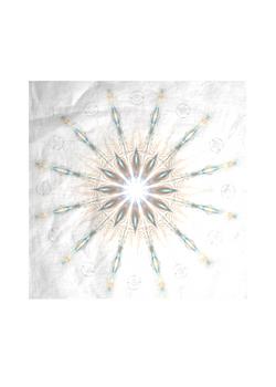 Presence silk square scarf