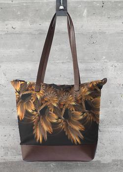 Autumn Feathers  statement bag